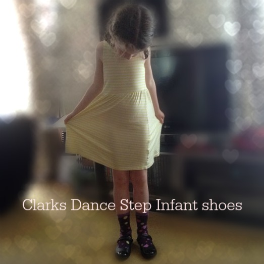 clarks dance step infant shoes
