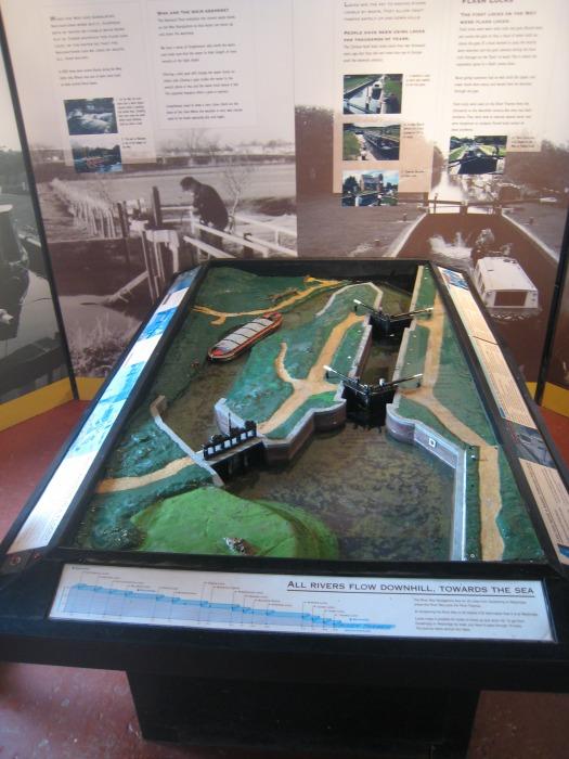 Dapdune Wharf Lock Model