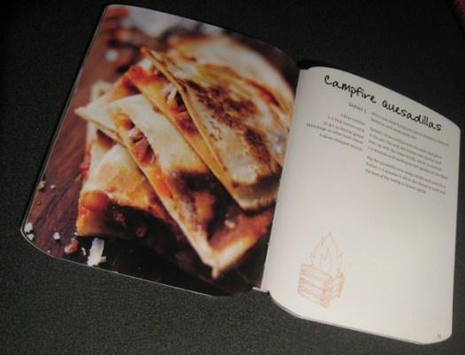 The Camping Cookbook - Campfire Quesadillas