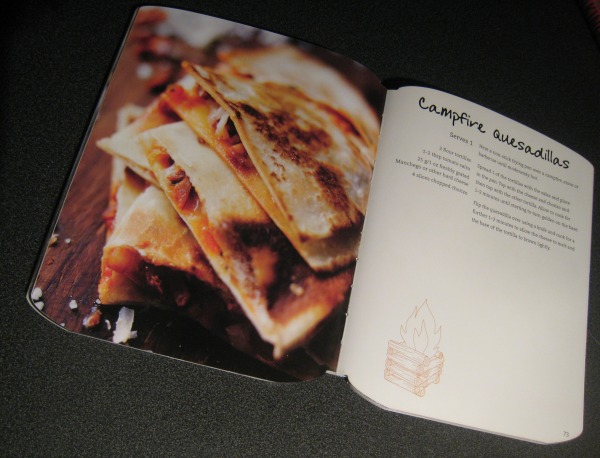 The Camping Cookbook - Campfire Quesadillas