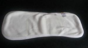 Burp cloth back