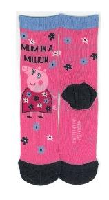 mummy pig gifts - socks