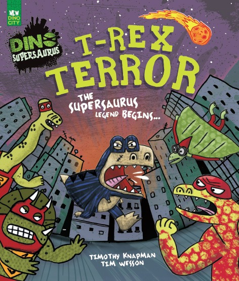 T-Rex Terror book cover