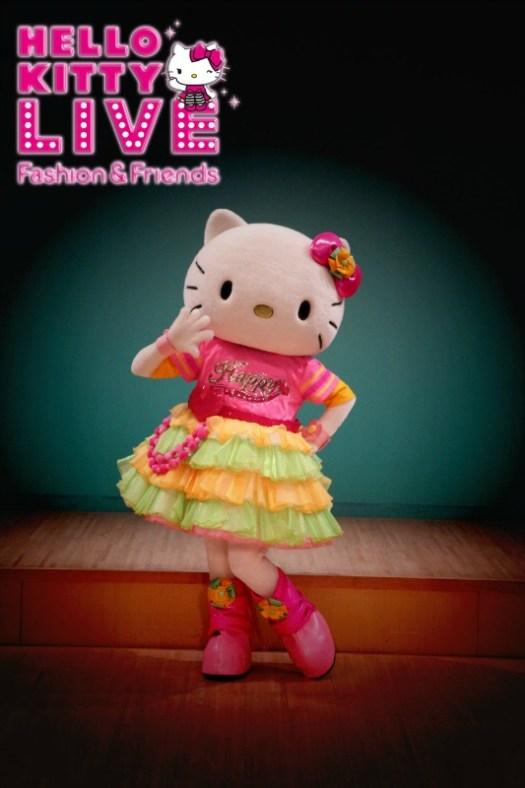 Hello Kitty Live - Fashion & Friends. Credit Sanrio Puroland 2