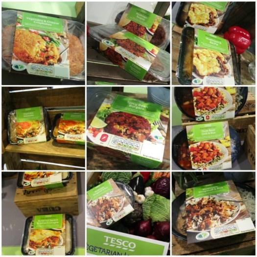 Tesco Vegetarian kitchen range