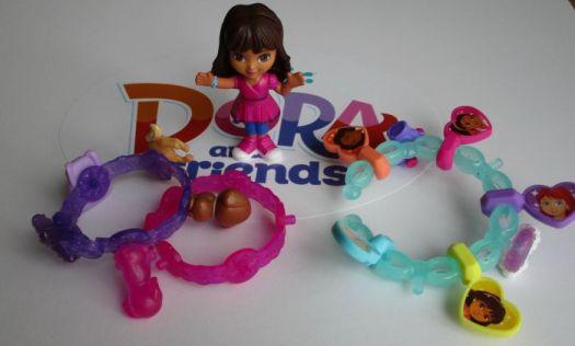 Dora and Friends Charm Bracelets