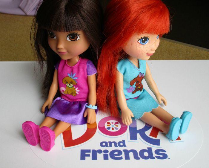Dora and Kate dolls