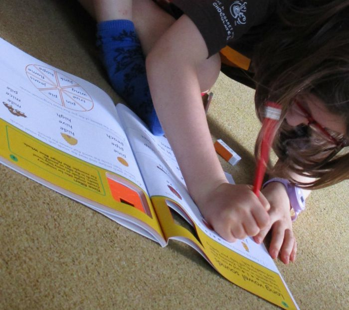 Carol Vorderman workbook English Made Easy - in progress