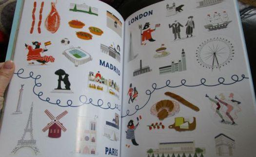 Inside Big City Sticker Book by Maggie Li