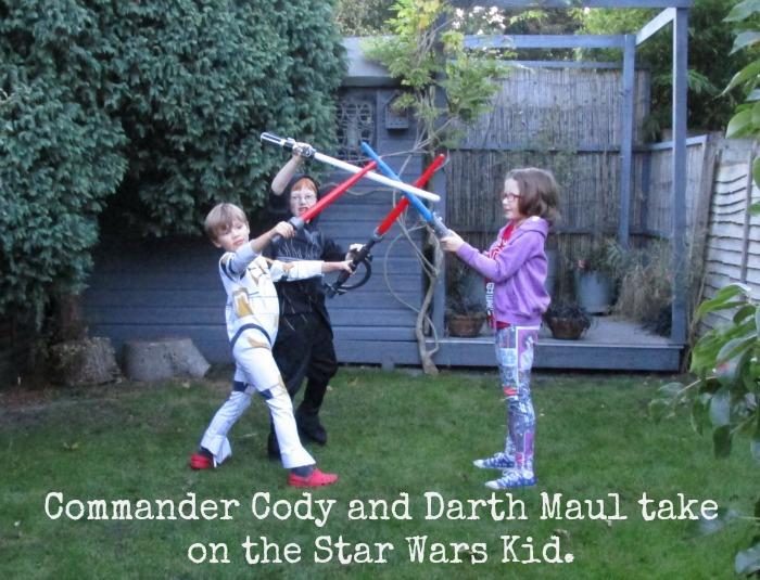 Star Wars Reads Day Lightsaber break