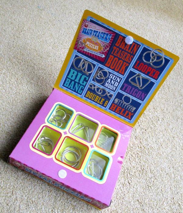 Professor Murphy Metal Puzzle Set open box