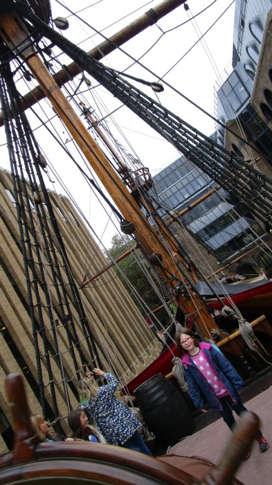 The Golden Hinde at London Bridge
