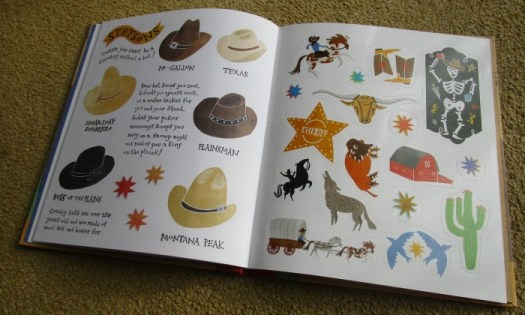 how to be a cowboy stickers