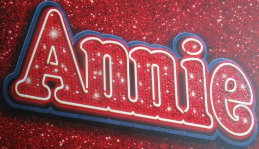 Annie the Musical logo