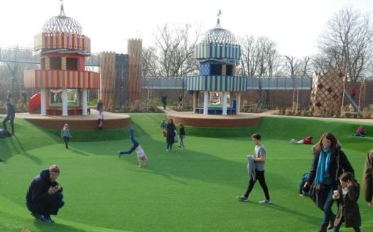 Hampton Court Magic Garden amphitheatre