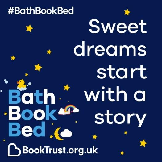 Bath Book Bed BookTrust campaign