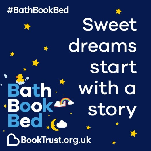 Bath Book Bed BookTrust campaign