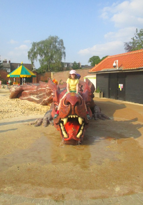 Hampton Court, H on dragon, Hampton Court Magic Garden, membership and passes