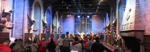 Harry Potter tour great hall