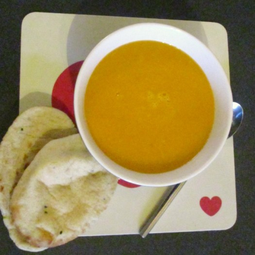 Souper Sweet Summer Soup served