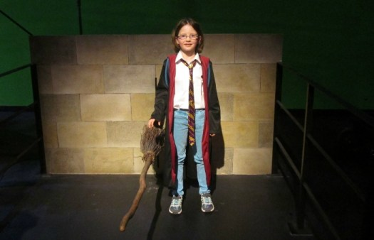 harry potter tour broom training