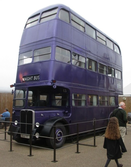 harry potter tour knight bus