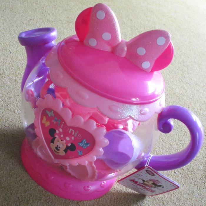 Minnie Mouse tea pot playset