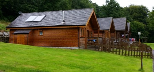 Coombe Mill Scandinavian Lodges, Coombe Mill at Christmas