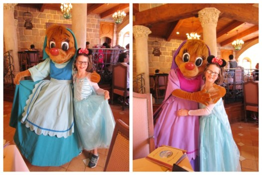 Suzy and Perla at Auberge de Cendrillon