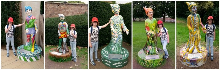 Gnomes Unearthed at Hampton Court, finding Umbriel