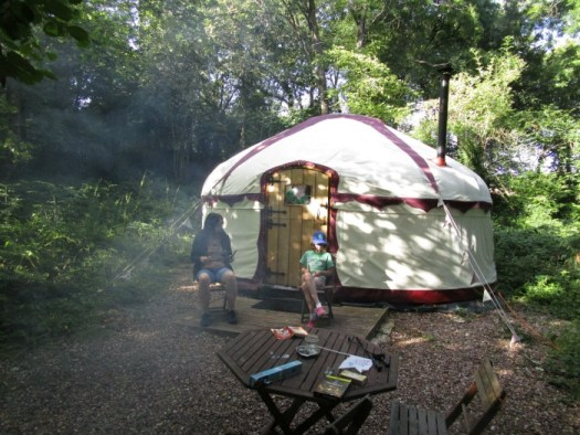 Our summer - Glamping