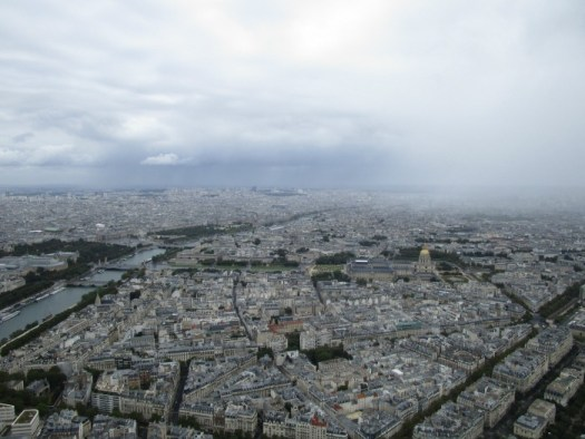 Our summer - Paris from the Eiffel TOwer