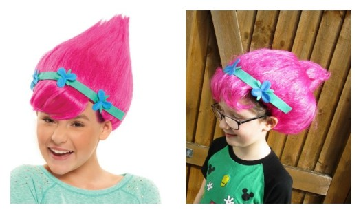 The Trolls Poppy Wig
