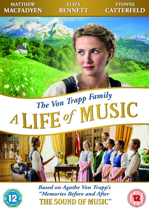 The Von Trapp Family A Life of Music DVD Cover
