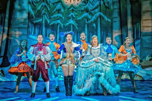 Cinderella at York Theatre Royal. Photo by Anthony Robling