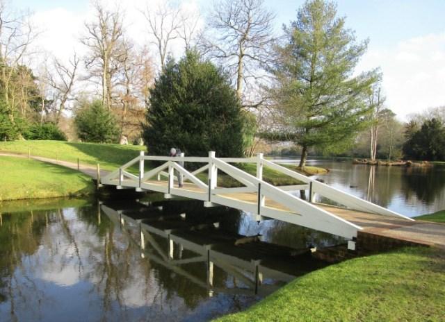 Painshill Park Woollett Bridge