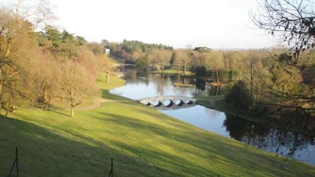Painshill Park view from Turkish Tent
