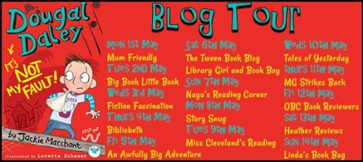 Dougal Daley Blog Tour