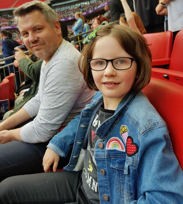 Comfy Wembley seats