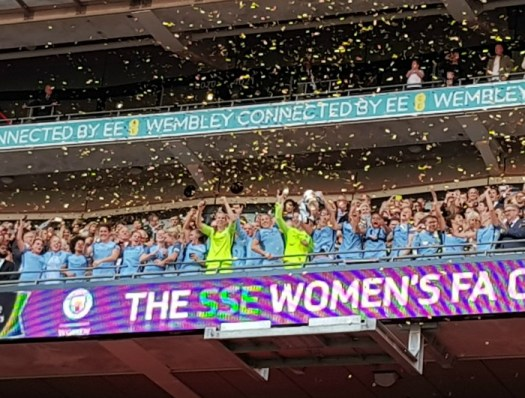 Manchester City Women and the FA Cup