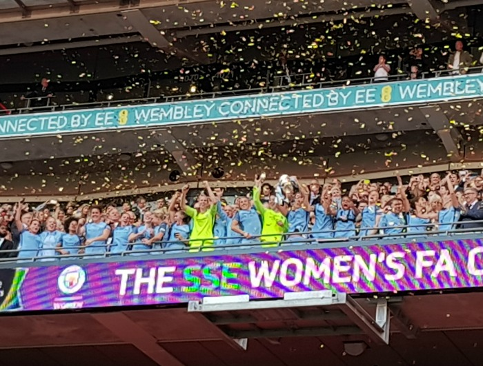 Manchester City Women and the FA Cup, FA Cup Final 2017