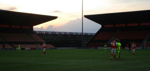 Arsenal v Reading FA WSL Spring Series The Hive
