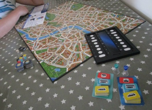 Scotland Yard gameplay