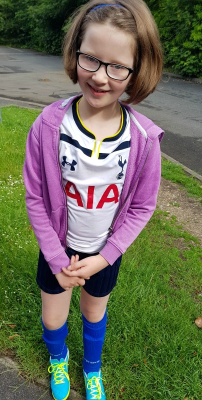 future tottenham player, FA Girls' Football Week