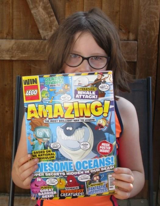 H and Amazing Magazine