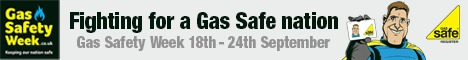 Gas Safety Week 2017 banner