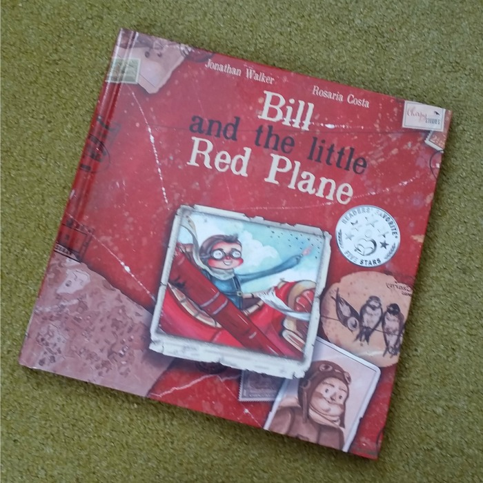 Bill and the Little Red Plane by Jonathan Walker