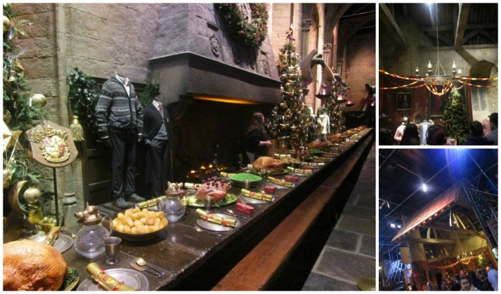 Hogwarts in the Snow Great Hall and Gryffindor common room