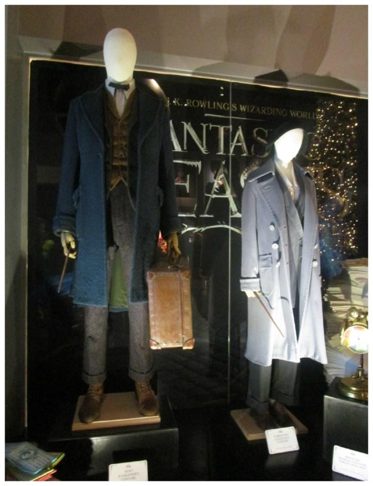 Newt & Porpentia costumes - Warner Brothers Studio Tour
