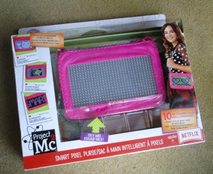Project Mc2 Pixel Purse packaging